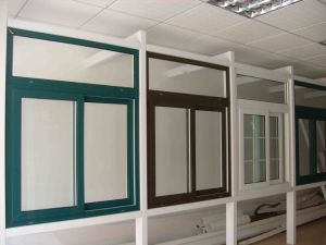 Colorful UPVC Double Glazing Sliding Window (TS-175) pictures & photos