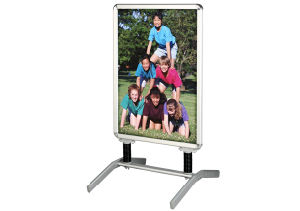 Display Stand Banner Outdoor (DW-LS-1A) pictures & photos
