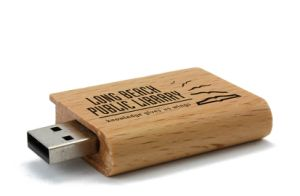 Book USB Flash Drive Eco Wooden Material 1-64GB pictures & photos