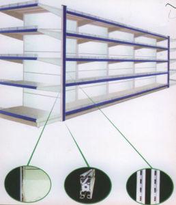 Double-Side Supermarket Shelf With Backboards /Display Shelf (003)