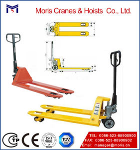 Hydraulic Pallet Truck with Wheels Handle Probuilt pictures & photos