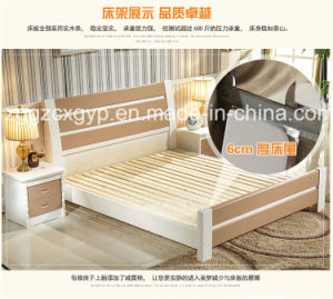 Modern Double Wood Bed/Bedroom Furniture Wood Bed/High Quality Wood Bed Cx-Wb02 pictures & photos