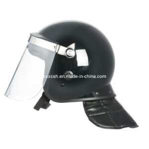Police Anti-Riot Helmet with Visor pictures & photos