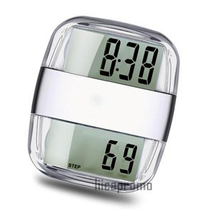 Pedometer With Radio and Clock (LPP1002)