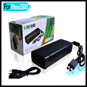 AC Adapter Power Supply Cord for Console xBox 360 Slim pictures & photos