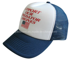 Promotional Screen Print Sponge Mesh Sport Trucker Hat (TRT046) pictures & photos