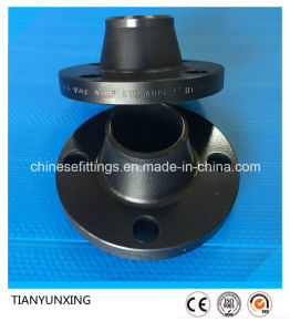 Carbon Steel A105 Forged Flange with Black Painting pictures & photos