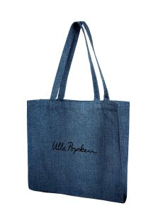 Ecological Cotton Canvas Bags, Denim Tote Bag, Canvas Tote Bag Leather Handle pictures & photos