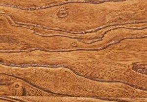 12mm HDF Embossed V-Grooved Waxed Edged Lamiante Laminated Flooring pictures & photos