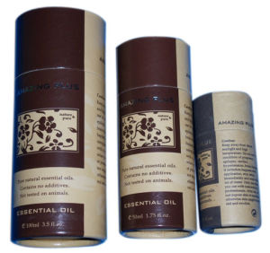 High Quality Customized Fragrance Paper Tube Box Packaging (YY-B0134) pictures & photos