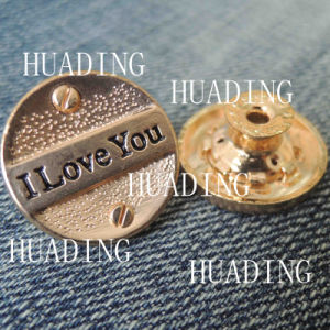 High-Grade Unique Alloy Material Metal Shank Button of Garment (HD1104-15) pictures & photos