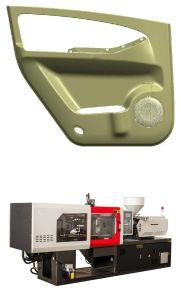 1300 Ton Desktop Horizontal Plastic Injection Molding Machine with Servo Motor