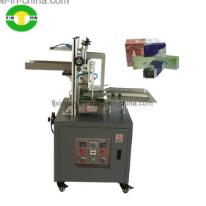 Manual facial tissue paper carton box packing machine pictures & photos