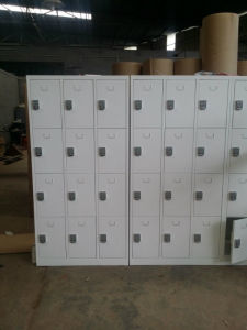Supermarket Metal Locker with 24 Doors pictures & photos