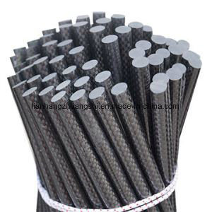 High Strength Carbon Fiber Solid Rod, Pultruded Pole pictures & photos