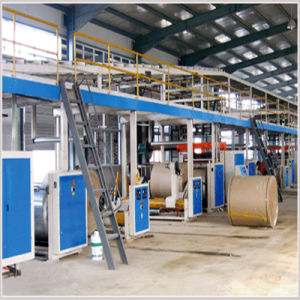 Corrugated Paperboard Production Line and Carton Machine pictures & photos