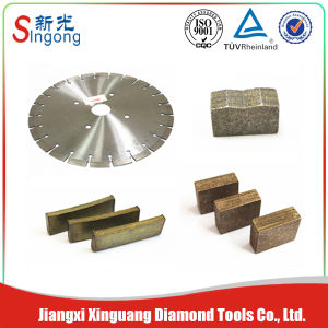 Different Kinds of Cutting Tools Diamond Marble Cutting Segment pictures & photos