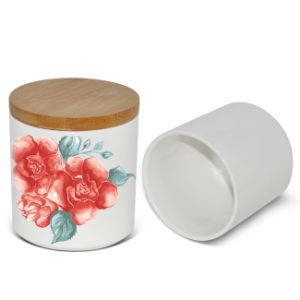 New Sealed Jar Wholesale Ceramic Blank Sublimation Seal Pot pictures & photos
