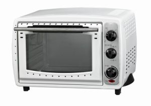 White Painting Electric Toaster Oven with Convection and Rotisserie Function