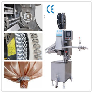 Hot Sale High Quality Automatic Sausage Double Clipper pictures & photos