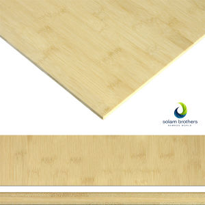Bamboo Panels Horizontal 3-Ply Natural Plywood 18mm Customize Size