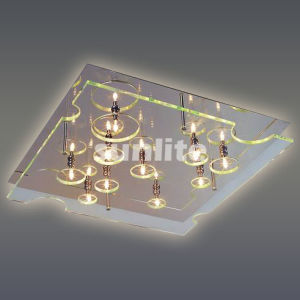 Modern Clear Glass Ceiling Lamp (MD-9122XL) pictures & photos