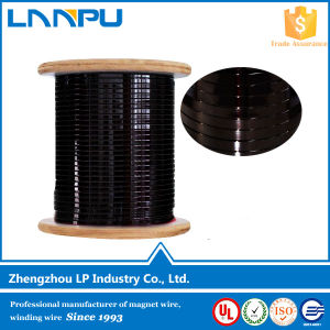 Grade 2 Insulation Rectangular Enameled Aluminum Wire for Transformer Flat Enameled Aluminum Wire