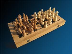 Bamboo Chess Set