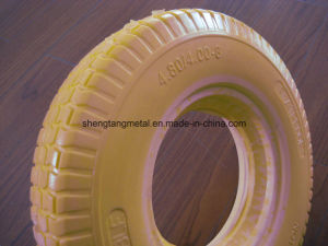 Flat Free Wheelbarrwo Tire with Good Price pictures & photos