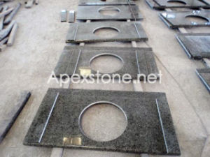 Forest Green Granite Vanity Top