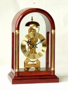 Solid Wood Skeleton Clock (0303X)