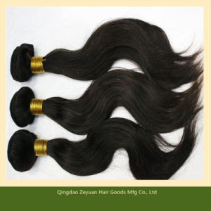 24 Inch Unprocessed Brazilian Human Hair Weft (ZYWEFT-208) pictures & photos