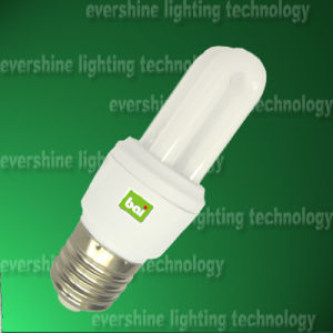 2u Energy Saving Lamp/Light / Bulb (Compact Fluorescent Light CFL 2U01)