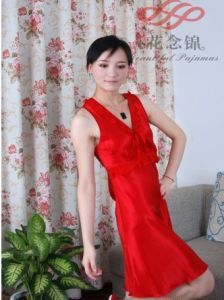 New Style Silk Night-Suit for Ladies