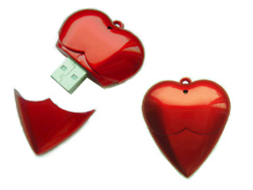 Diamond Necklacefull Capacity USB Flash Drive
