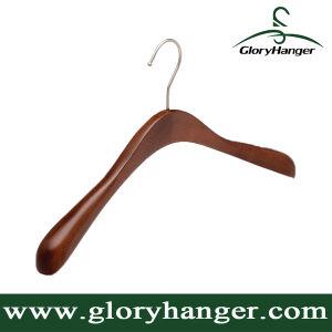 Wood Garment Hanger for Coat Display pictures & photos