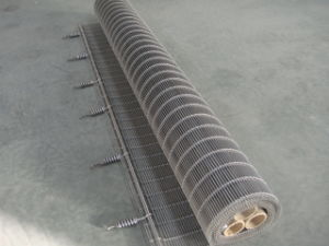 Stainless Steel Multi Barrette Weave Mesh Panel
