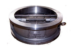 ANSI Stainless Steel Double Disc Wafer Check Valve