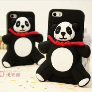 for iPhone 5 Panda Soft Back Case