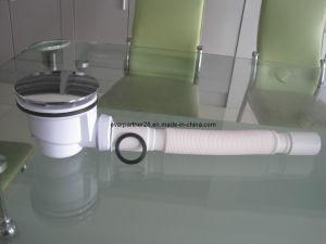 Plastic Shower Basin Waste Valve, Bathtub Drainer pictures & photos