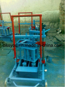 Mini Type Concrete Cement Brick Block Making Machine (QTJ) pictures & photos