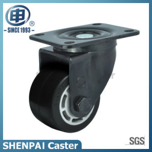"2.5""Aluminium Core Rubber Swivel Caster Wheel pictures & photos"