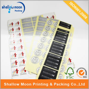 Customized Printing Paper PVC Self Adhesive Sticker (QYCI002) pictures & photos
