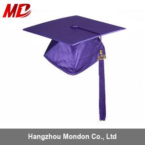 china wholesale custom graduation cap with tassel purple china