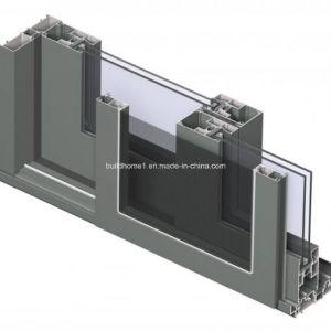 Bespoke High Class Double Glass Hidden Roller Sliding Aluminium Windows and Doors pictures & photos