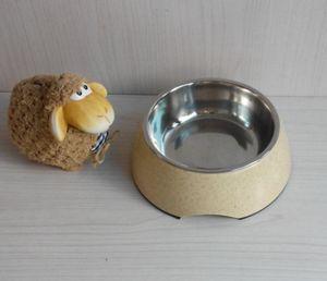 Eco Bamboo Fiber Pet Bowl (BC-PE6014) pictures & photos