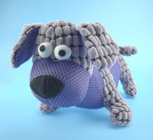 Plush Pet Dog Toy with Squeaker Inside pictures & photos