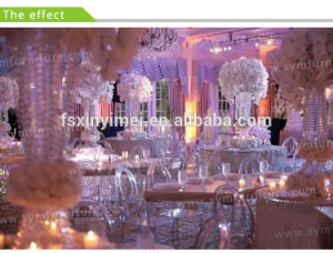 Wholesale Wedding Decorations Supplies Clear Resin Phoenix Chair pictures & photos