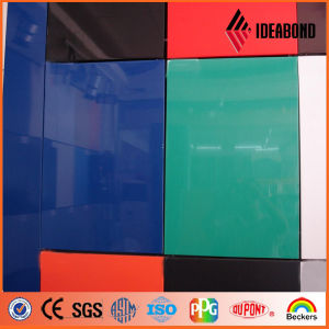 Interior Yellow and Blue Gloss Decorative Panel Building Material pictures & photos