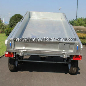 10X5FT Hot Dipped Galvanized Farm Used Hydraulic Tipper Trailer Heavy Duty Trailer pictures & photos